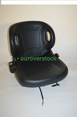 New Molded Forklift Seat With Seatbelt & Switch For Toyota