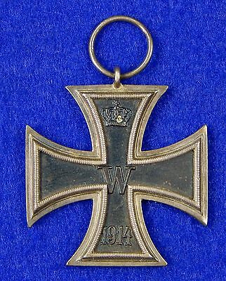 German Germany WW1 WW1 Iron Cross of 2 Class Medal Order Badge w/ Box