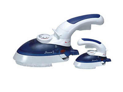 Compact Steam Handy Travel Iron 800W With Rotating Handle - Eu Plug