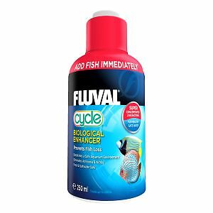 Fluval Biological CYCLE 250ml Water Filter Fish Tank Fresh Nutrafin