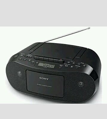 Sony CFDS50B Digital CD and Cassette Player.