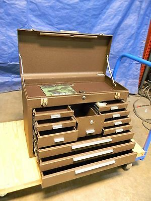 Kennedy 11 Drawer Machinists Tool Storage Cabinet Chest Case 3611B