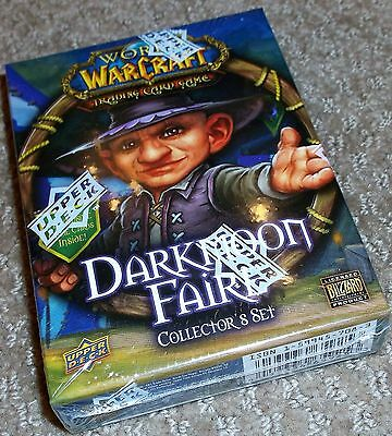 World Of Warcraft Darkmoon Faire Collector's Set Factory Sealed Free Ship