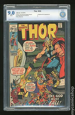 Thor (1962-1996 1st Series Journey Into Mystery) #181 CBCS 9.0