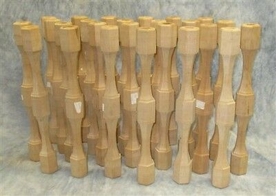 Lot 24 NOS Wooden Corbels Spindles Wood Work House Trim Furniture Vintage