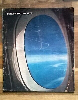 British United Airways Jets Vintage Brochure: Vickers VC10 & BAC One-Eleven