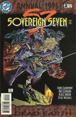 "Comic DC ""Sovereign Seven  #2 Annual"" 1996 NM"