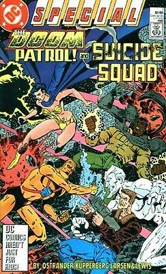 "Comic DC "": The Doom Patrol! and Suicide Squad #1"" 1988 Special One-Shot NM"