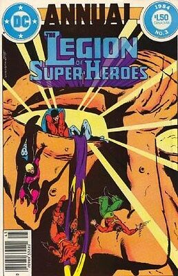 "Comic DC ""The Legion of Super-Heroes #3"" Annual 1984 NM"