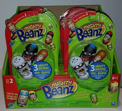19 x Mighty Beanz Series 2 Lot Party Loot Gift Favours Stocking Filler Toys NEW