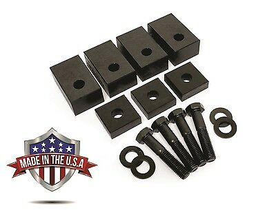 Jeep JK Seat Spacers + Bolts Rear Seat Recline Kit For 2007-2017 MADE IN THE USA