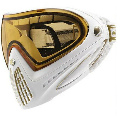 Dye Precision I4 Thermal Paintball Goggle - White/Gold