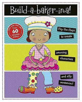 Build-a-Bakerina (Activity Book), Make Believe Ideas, New