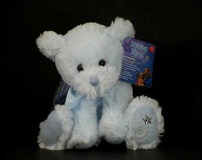 New with Tag Blue Bear Plush Shining Stars Russ Berrie Retired 34423