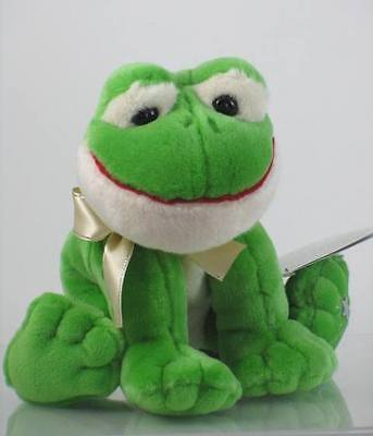 New with Tag Frog Plush Shining Stars Russ Berrie Retired 34435
