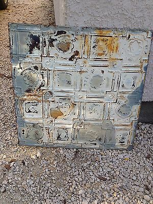 Antique Lot Set 350+ Square Feet 90 Tin Ceiling Tiles Art Deco Home Old Farm