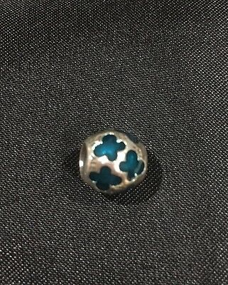 Authentic PANDORA SILVER Jade Bead Charm 925 ALE
