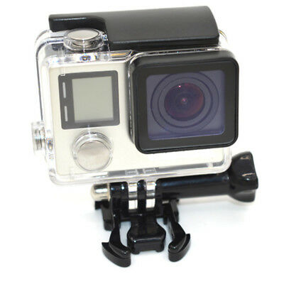 WATERPROOF Dive Diving Camera Housing Case FOR GoPro HERO 3 4+ Clear/Black AU