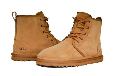 UGG Australia Men's Harkley 1016472 Chestnut Suede NEW Sz 7-14 NEW