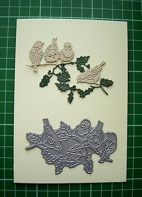 ROBINS & HOLLY D1303 by Tattered Lace Stephanie Weightman BNIP New Release