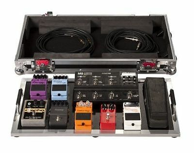 Guitar Effects Protection Tour Series Pedal Board Large Locking Case Wheels Roll