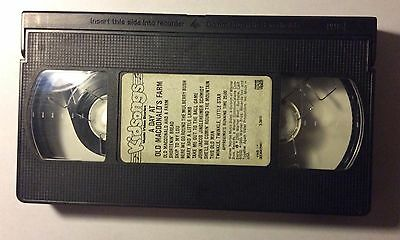 Kidsongs - A Day at Old MacDonald's Farm (VHS) 1985 Kidvision Homeschool