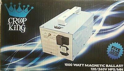 Crop King 1000 Watt Ballast 120/240v