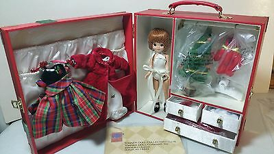 """Tiny Betsy Mc Call 8"""" Doll ~ """"  Christmas Trunk set """" By Tonner Doll Co. ~ 2003"""
