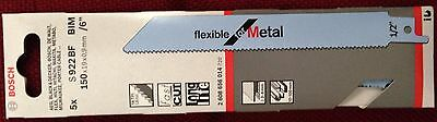 Bosch S922Bf Reciprocating Sabre Saw Blades Pack Of 5
