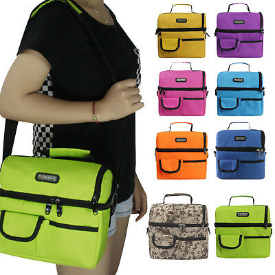 Large Thicken Folding Fresh Keep Waterproof Oxford Cloth CoolerThermal Lunch Bag