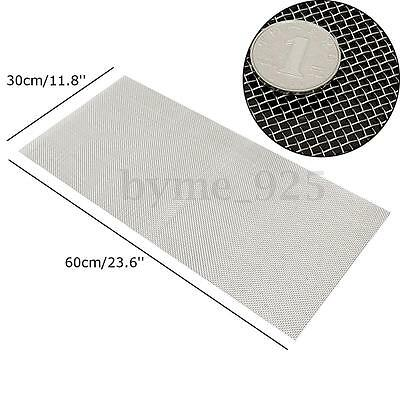10 Mesh 304 Stainless Steel Wire Cloth Screen Filtration Filter Sheet 30cmx60cm