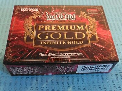Yu-gi-oh PGL3 Premium Gold Infinite Gold 2016 Sealed Box English New