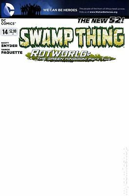 Swamp Thing (2011 5th Series) #14B NM