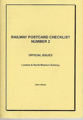 London and North Western Railway Official Postcard Checklist - Alsop No.2