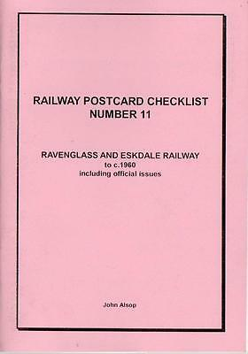 Ravenglass and Eskdale Railway to 1960 inc Officials PC Checklist - Alsop No.11
