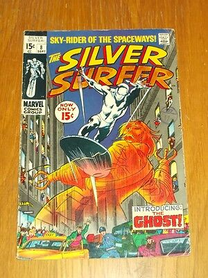Silver Surfer #8 G/Vg (3.0) Marvel Comics September 1969<