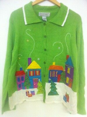 Christmas Cardigan Jumper In Size XL Extra Large