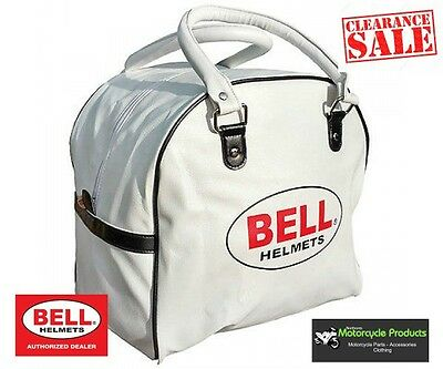 Bell Helmet Open Face Helmet Bag White Slight Stains Bargain