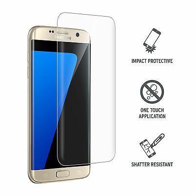 Curved Anti-Scratch Tempered Glass Screen Protector for Samsung Galaxy S7 Edge