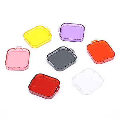 ABS Multi-Colored 7-In-1 Diving Housing Filters for GoPro Hero 3/SJcam SJ4000
