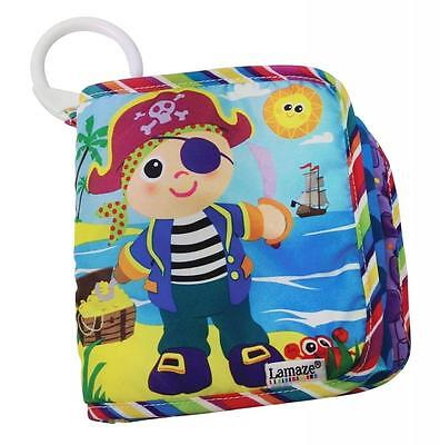 Lamaze LC27915 Soft Textures Bright Bold Colours and Patterns Yo Ho Horace Book