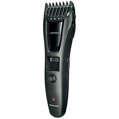 Panasonic ERGB60K Quick Adjust Mains and Rechargeable Beard/Hair Trimmer - Black