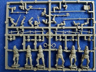 Perry miniatures Agincourt English Foot Knights 1415-1429