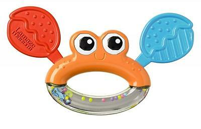 Lamaze LC27621 Bright Bold Colours and Patterns Click Clack Jack Teether - Multi