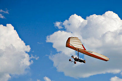 Hang Gliding FunDay Solo flights-for group of 3/4 -PeakDistrict Vouchers byEmail