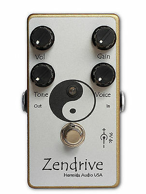 Lovepedal Hermida Audio Zendrive 2 Gold Drive Overdrive guitar effect pedal new