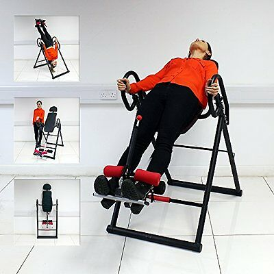 Exercise INVERSION TABLE Invert Align Exercise Bench reduce back/neck pain