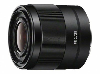 100% New Unused Sony FE 28mm F2 Full Frame Wide Angle Lens SEL28F20 a7 a7R a7S
