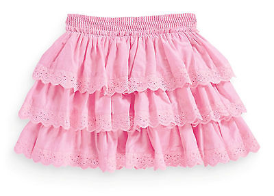 ВNWT NEXT Girl Party Dress • Pink Broderie Ra-Ra Skirt • 100% cotton • 6 Years
