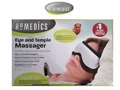 Homedics Eye & Temple Massager IM-100 Soothes Away Tension & Stress
